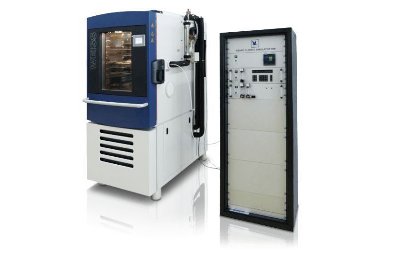 Test Cabinets for Ozone Resistance Tests, Type OZ